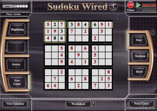 Sudoku Wired Game 2