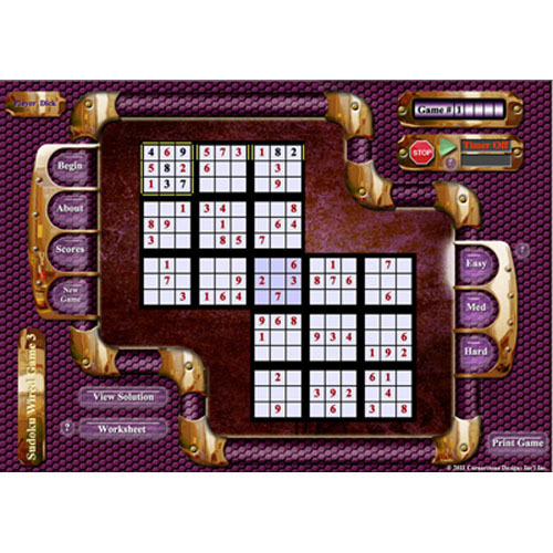 Sudoku Wired Game 3