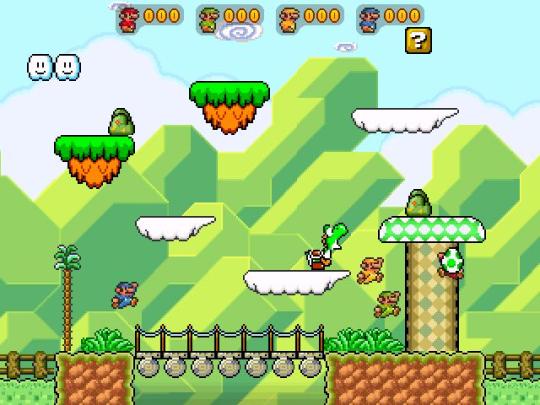 Super Mario Bros Redux : Mario War