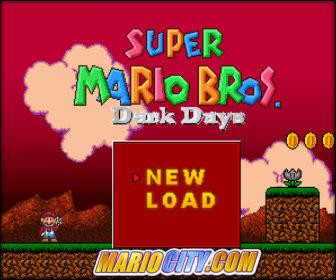 Super Mario Dark Days