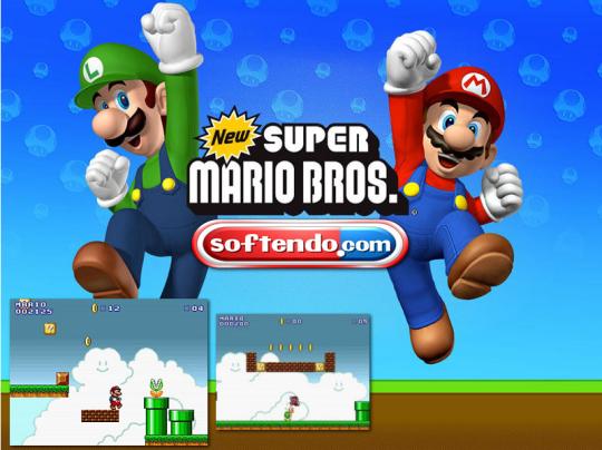 Super Mario Flash Bros