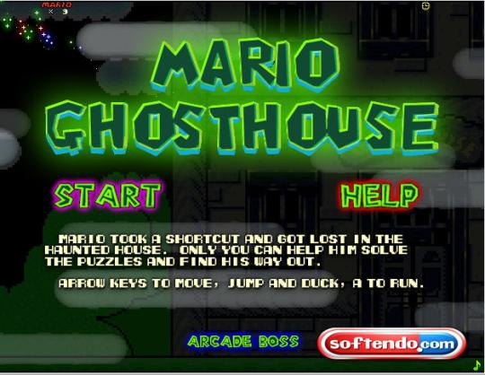 Super Mario Ghosthouse