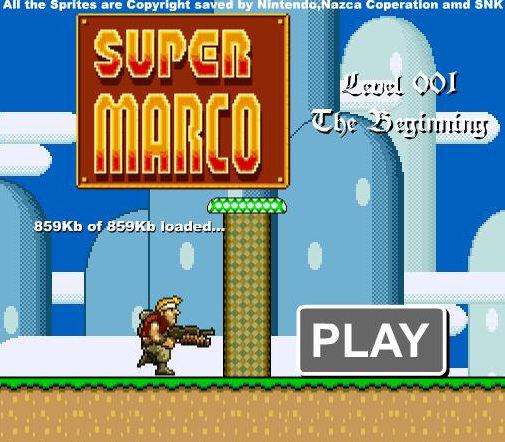 Super Mario Metal Slug