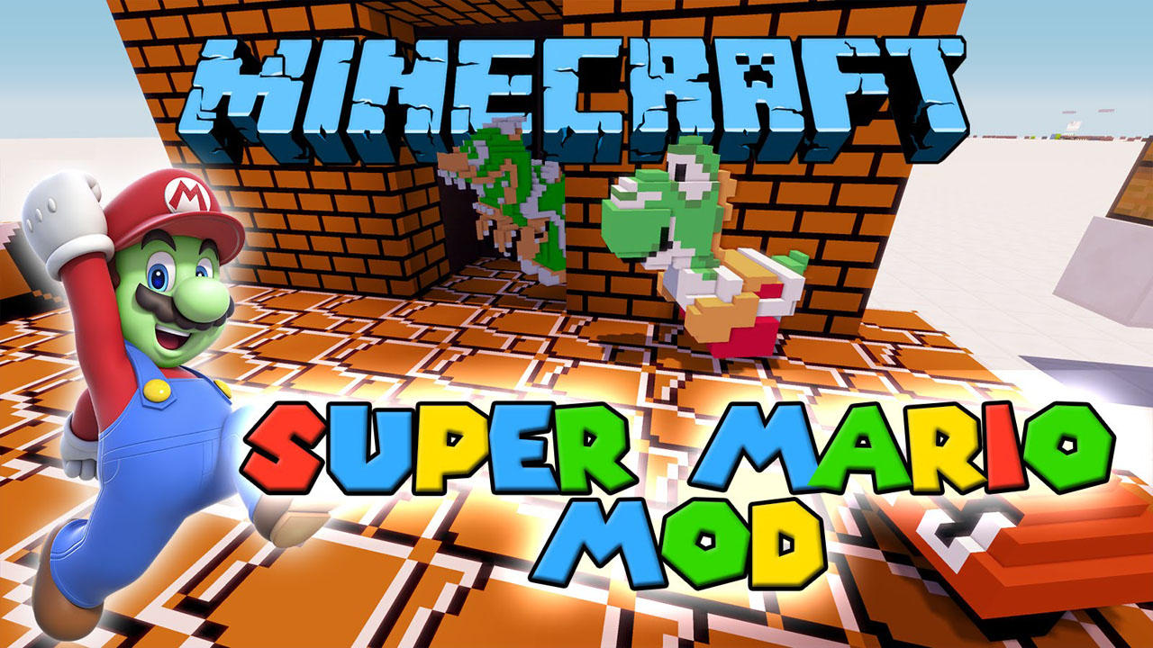Super Mario Mod for Minecraft