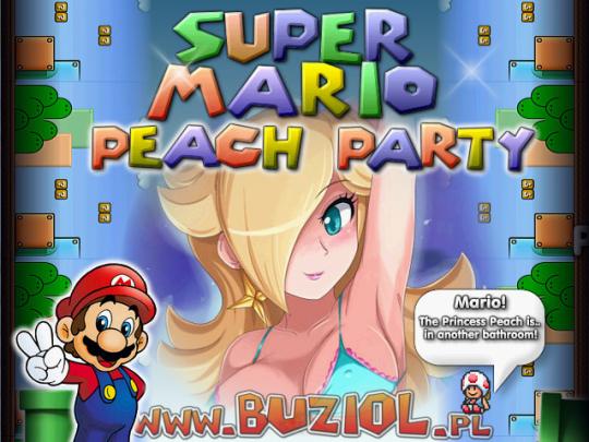 Super Mario Peach Party