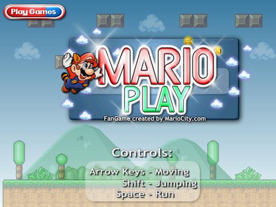 Super Mario Play