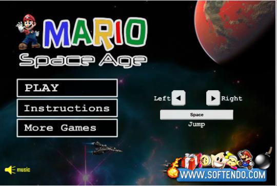 Super Mario Space Age 1