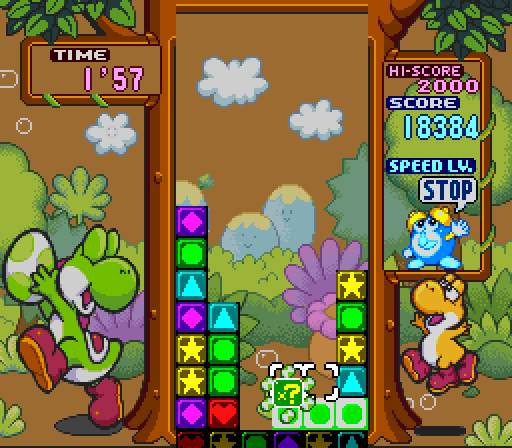 Super Mario Tetris 3