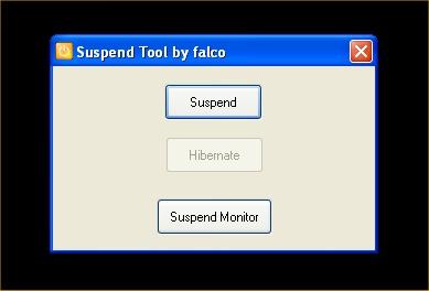Suspend Tool