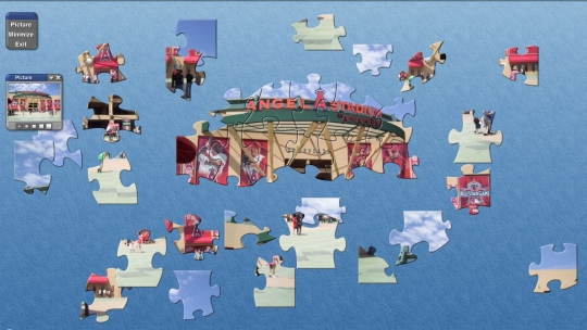 SVP MLB Angels Stadium Puzzle