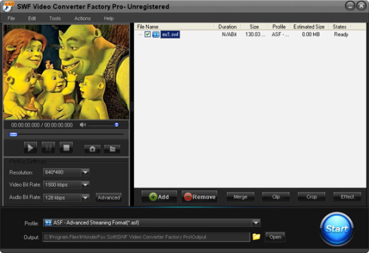 SWF Video Conerter Factory Pro