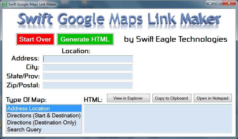 Swift Google Maps Link Maker