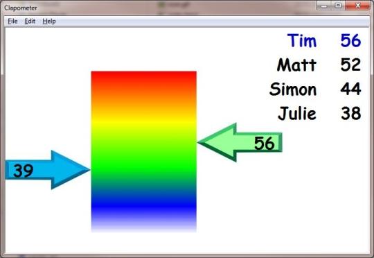 SwiftTec Clapometer