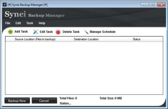 Synei Backup Manager Portable