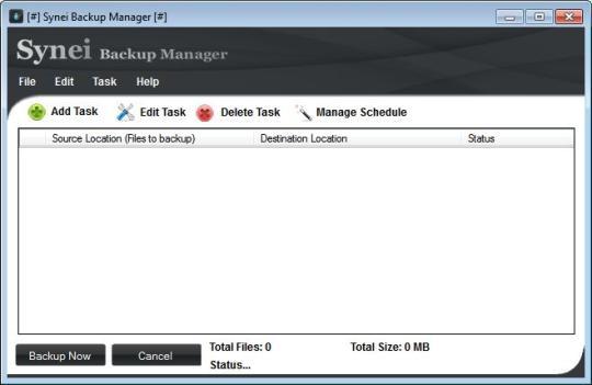 Synei Backup Manager