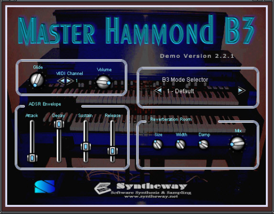 Syntheway Master Hammond B3 VSTi