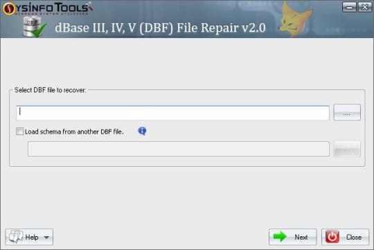 SysInfoTools DBF Repair