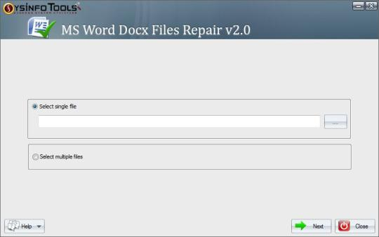 SysInfoTools Docx Repair