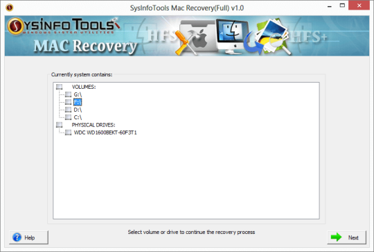 SysInfoTools Mac Recovery