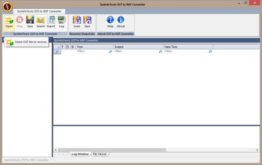 SysInfoTools OST to NSF Converter