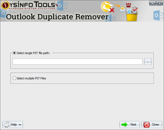 SysInfoTools PST Duplicate Remover