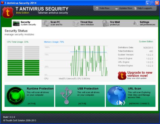 T Antivirus Security 2014 Beta