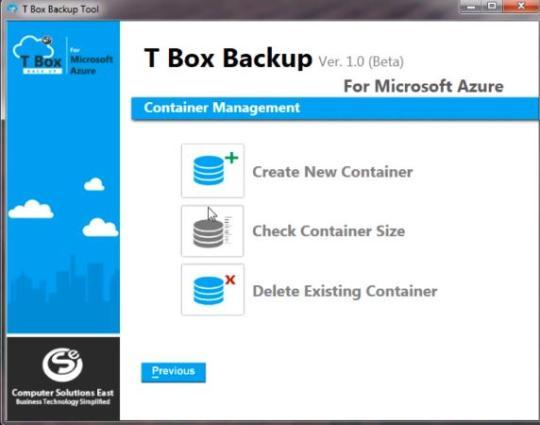T Box Backup