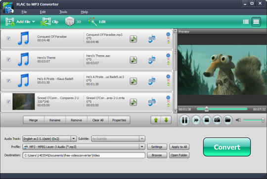 T7R  Studio FLAC to MP3 Converter