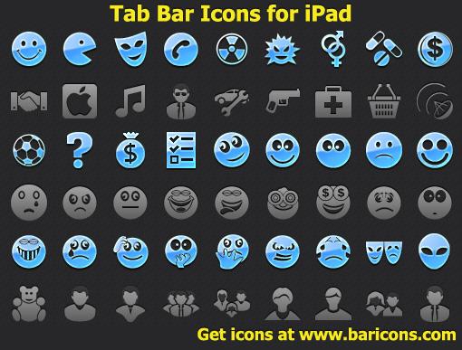 Tab Bar Icons for iPad