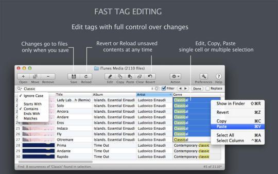 Tag Editor