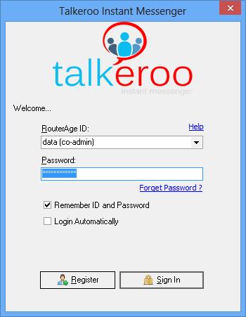 Talkeroo Instant Messenger