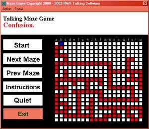 Talking Maze Game