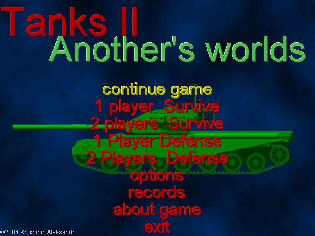 Tanks II: Another World