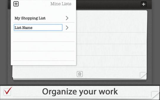 Tasks List Manager