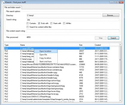 TaskSystem File Finder