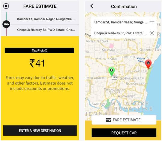 Miễn phí tải về Taxi Pickr Uber Clone Android App Cho Web ::: Phần mềm