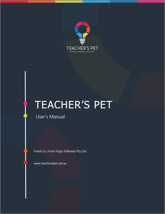 Teacher's Pet User's Manual