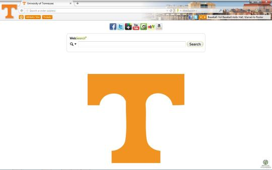 Tennessee Volunteers Theme for Firefox