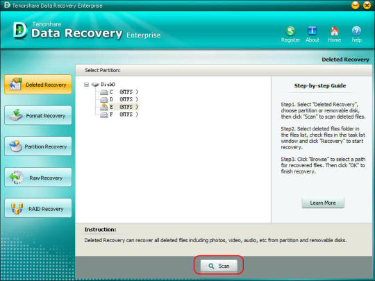 Tenorshare Data Recovery Enterprise