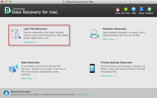Tenorshare Data Recovery