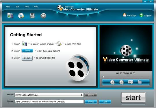 Tenorshare Video Converter Ultimate