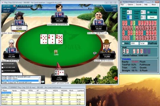 Texas Holdem Helpem Poker Odds Calculator