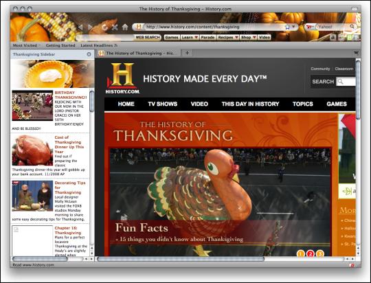 Thanksgiving Boom for Firefox