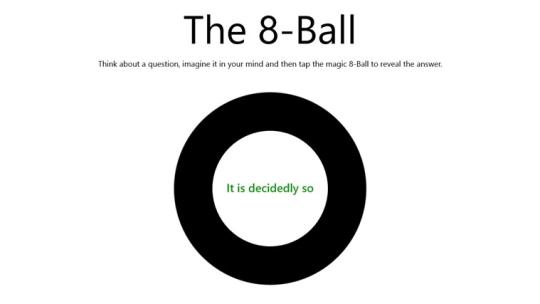 The 8-Ball for Windows 8