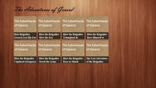 The Adventures of Gerard eBook