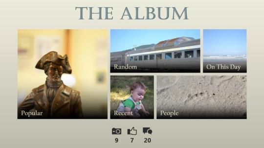 The Album for Windows 8