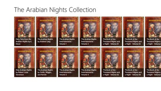 The Arabian Nights Collection