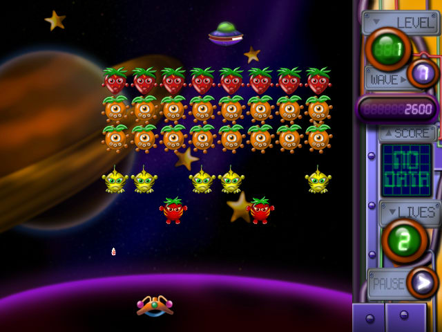 The Attack of Mutant Fruits from Outer Space