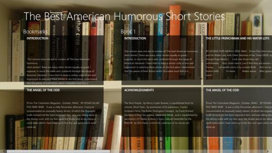The Best American Humorous Short Stories by Various for Windows 8