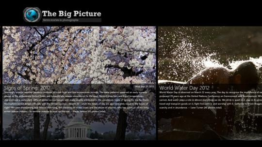 The Big Picture for Windows 8